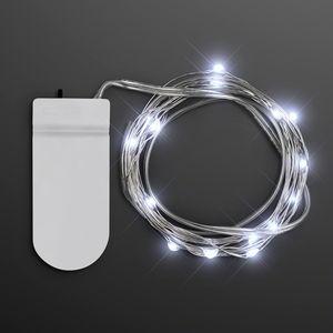 Cool White Craft String Lights - BLANK