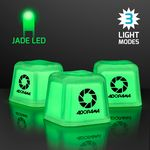 Custom Hollywood Ice Green Glow Light Up Ice Cubes