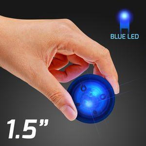 Custom LED Blue Rubber Bounce Ball