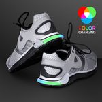 Flashing Multicolor Shoe Heel Light for Night Safety