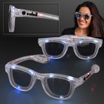 Red White & Blue Cool Shades LED Sunglasses