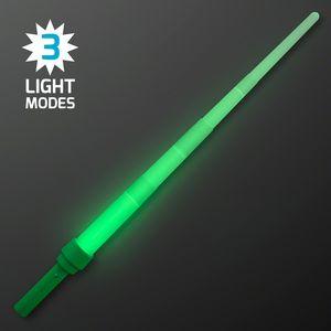 Custom Green Saber Expandable Light Swords - BLANK