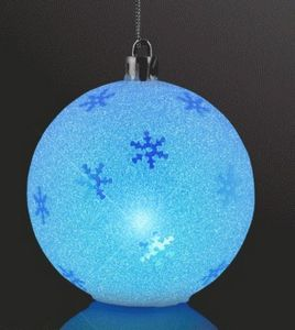 325 led sparkle snowflake ornaments christmas decorations 12279 mlt ideastage promotional products