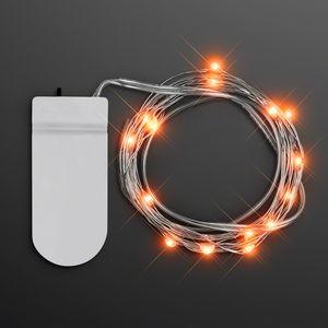 Orange Craft String Lights - BLANK