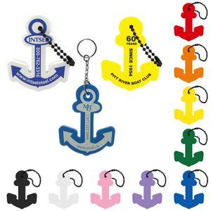 Foam Floating Keychain - Anchor