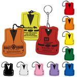 Custom Foam Floating Key Tag - Life Vest