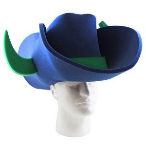 ea4b6a7c8 Cowboy Hat with Bull Horns