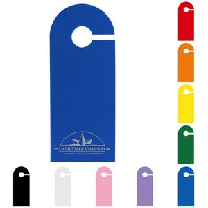 9.5 Foam Door Hanger w/ Slit Hole - 1/8 Thick