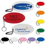 Custom Oval Floating Key Tag