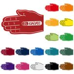 Foam Karate/ Hand Shake Waver