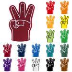 Foam 3 Finger Hand