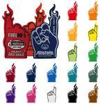 Flame Finger Foam Hand
