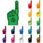 #1 Foam Hand Mitt (24