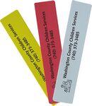 Foam Rectangle Bookmark