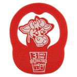 Pop-Up Foam Visor - Cow