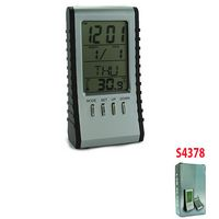 2-in-1 LCD Clock & Calculators