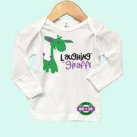 White Long Sleeve Baby Lap T-Shirt w/Fold Over Mittens
