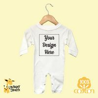 Baby Short Sleeve Crew Neck T-Shirts - White - 100% Cotton (CottonLite) - The Laughing Giraffe®