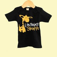 The Laughing Giraffe® Dark Color Baby Lap T-Shirt