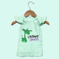 Pastels Toddler Girls Flutter Angel Sleeve Top - The Laughing Giraffe®