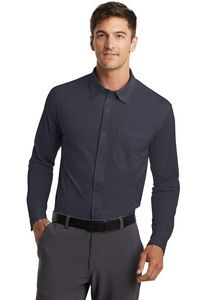 Port Authority Dimension Knit Dress Shirt Shirt