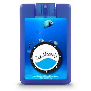 Decal Translucent Blue Logo