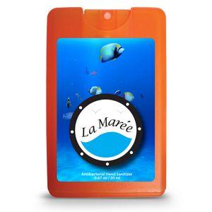 Decal Translucent Orange Logo