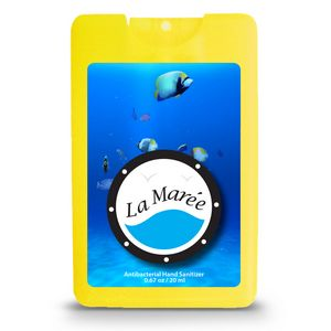 Decal Translucent Yellow Logo