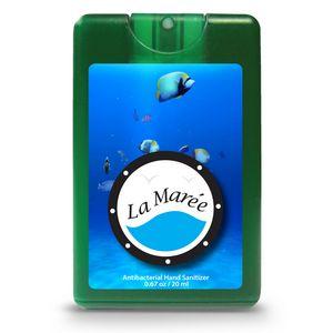 Decal Translucent Green Logo