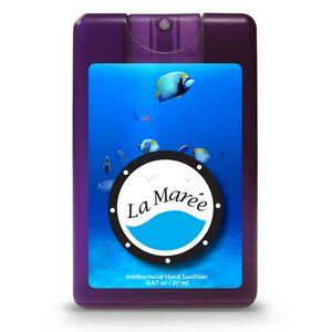 Decal Translucent Purple Logo