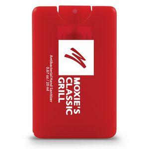Trranslucent Red Logo