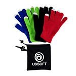 Custom Texting Gloves with Pouch