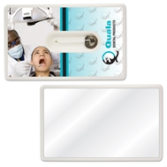 Custom Imprinted Credit Card Dental Floss!