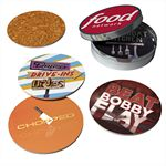 Custom Coasters In Tin