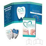 Custom Tek Booklet with Dental Floss