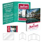 Custom Tek Booklet with Credit Card Style Dental Floss/Mirror