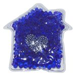 Custom Gel Tekbeads Hot/Cold Pack (House Shape)