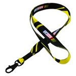 Custom Lanyards Smooth Polyester (3/4
