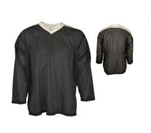 f2ea6006ff0c4 Adult Micro Mesh Hockey Jersey Shirt w/ Contrasting Yoke