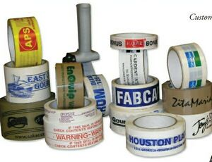 Custom Imprinted Printed Tape