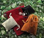 Custom Velveteen Drawstring Bags