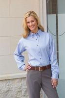 Ladies' Jonathan Corey Long Sleeve Heavyweight Washed Twill Shirt