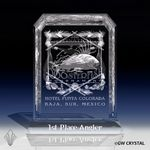 Custom Brilliance Series Crystal Award (12
