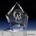 Custom Arrow Series Crystal Award (12