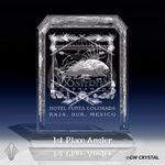 Custom Brilliance Series Crystal Award (5