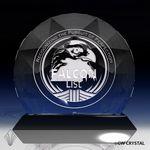 Custom Auroura Diamond Crystal Award (9