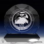 Custom Auroura Diamond Crystal Award (7