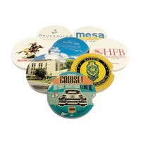 "2.5"" Soap Stone Car Coaster (1-Color)"