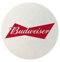 "4"" Pulpboard Coaster (Single Color)"