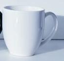 Custom 15 Oz. Solid Color Heartland Ceramic Bistro Mug